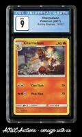 Pokemon (2017) - Burning Shadows - Charmeleon 19/147 - CGC Mint 9.0