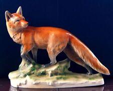 Porzellan-Figuren aus Thüringen mit Fuchs-Motiv