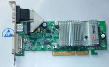ATI Radeon 9600SE 128 MB Graphic Card Grafikkarte AGP VGA DVI 1024-HC37-02-SA
