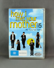 HOW I MET YOUR MOTHER: SEASON 5 (DVD, 2010, 3-DISC SET) IN EXCELLENT CONDITION