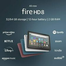 Kindle Fire HD 8 tablet 8 HD display 32GB designed for portable entertainment