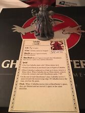 Kickstarter Ghostbusters Board Game 100mm CATHULHU + Ghost Card