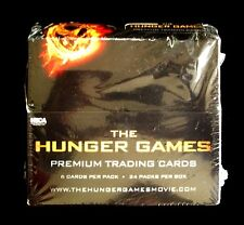 THE HUNGER GAMES Movie Premium Trading Cards ~ Box of 24 Packs