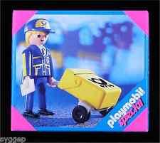 PLAYMOBIL > POSTMAN < SPECIAL 4607 NIB! (city modern mail carrier post worker)