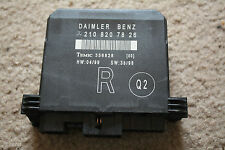 98-00  W210 E430 E320 CLK320  2108207826 W210 Door Relay Module passenger right