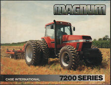 "Case International ""Série 7200"" Magnum Tracteur brochure dépliant"