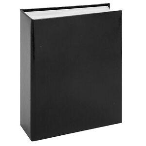 Photo Album 80 4x6 Portrait Pictures - Plain Black