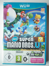 New Super Mario Bros. U + New Super Luigi Jeu Vidéo Nintendo Wii U