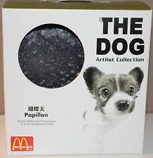 """8"""" McDonalds The Dog Artlist Pillow Collection Papillon 2002 International"""