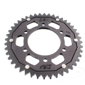 ZF Dual Motorcycle Sprocket Rear 44T 428 Pitch Black For Yamaha YZF-R 125 /MT125