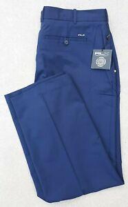 Ralph Lauren RLX Men's Golf Performance Moisture Wicking Pants NWT 40/32 Navy