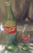 Vintage lot of 2 Cola Bottles