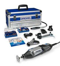 Dremel Platin-Edition 4000-6/128 Multifunktionswerkzeug 175 Watt, 128 Zubehöre, 6 Vorsatzgeräte, Aluminium-Tragekoffer