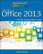 TEACH YOURSELF VISUALLY MICROSOFT OFFICE 2013 - ELAINE MARMEL (PAPERBACK) NEW