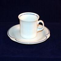 Arzberg Corso blau Mokka-/Espressotasse mit Untertasse neuwertig