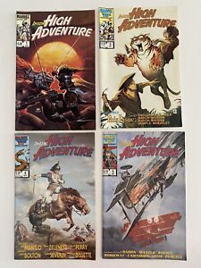Marvel Amazing High Adventure Set 1, 3-5 1984
