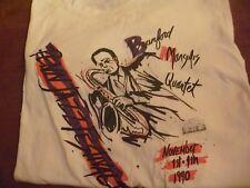 Penn Jazz Festival II Bradford Marsalis Tee Shirt Sz. L 1990