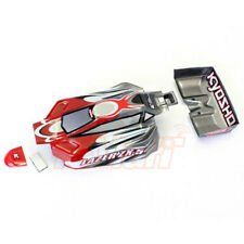 Kyosho LAZER Red Grey Body Set For Mini-Z Buggy 4WD RC Cars Off Road #MBB02RG