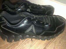 NEW  REEBOK  Zigtech Black Patent Sz 9.5 Men Referee Basketball Shoes