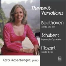 THEME & VARIATIONS: BEETHOVEN, SCHUBERT, MOZART USED - VERY GOOD CD