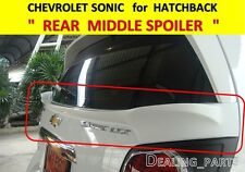 REAR SPOILER MIDDLE FOR CHEVROLET HOLDEN SONIC 5DOOR HATCHBACK 2012-2015