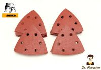 Triangle Delta Sanding Pads Sheets Palm 93mm Mouse Hook and Loop Sandpaper 90