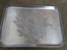 hand forged Aluminum plate