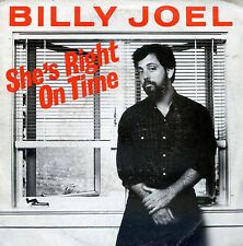 7inch BILLY JOEL she's right on time HOLLAND 1982 EX +PS