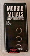 Morbid Metals 18g Nose Rings (pack of 3) Open Hoops Great Price! NEW!