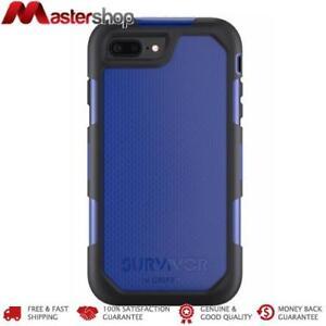 Griffin Survivor Summit Case for iPhone 8+ / 7+ / 6+ - Black / Blue
