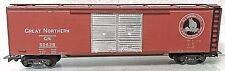Great Northern 50' Double Door Auto Box Car Embosed Varney? Sprung Trucks C1941