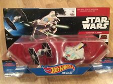 NEW - HOT WHEELS Starships, Star Wars Rebels, TIE FIGHTER vs GHOST - Twin Pack