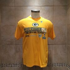 bf13dd1f70b Mens Green Bay Packers 4-Time Championship T-Shirt Yellow