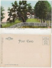 Picket Fence Around The Old Charter Oat At Hartford Connecticut 1900s Postcard