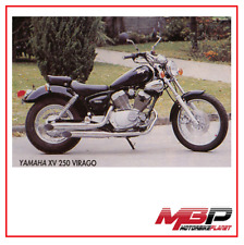 SCARICO COMPLETO EXHAUST SYSTEM LEGEND YAMAHA XV 125 VIRAGO 1997 2004 MARVING