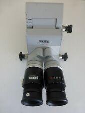 ZEISS SURGICAL MICROSCOPE F 170 0/60 BINOCULAR WITH 10x EYEPIECES