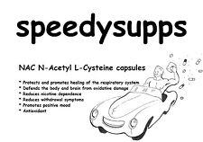 NAC N-Acetyl L-Cysteine 600mg VEGGIE capsules x 60 pill capsule antioxidant