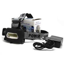 Linterna Frontal Recargable Impermeable De luz LED COB ajustable 3 tipos de luz