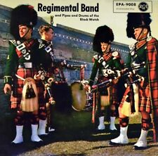 "7"" REGIMENTAL BAND AND PIPES & DRUMS OF BLACK WATCH Scotland The Brave RCA 1957"