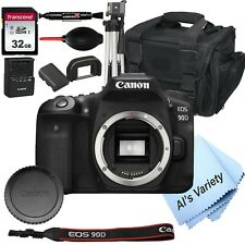 Canon EOS 90D DSLR Camera (Body Only)+ 32GB (14PC Bundle)