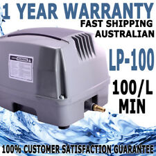 Hailea Hiblow Aquaculture Fish Tank Pond Septic Air Pump HAP-100 L/M WARRANTY