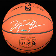 Michael Jordan Bulls Autographed in Silver Official NBA Game Basketball * UDA
