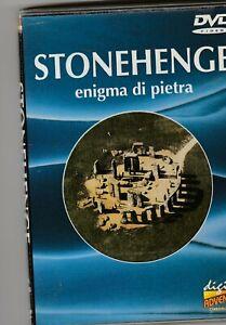 """STONEHENGE - """" ENIGMA DI PIETRA""""  DVD ORIGINALE, COME NUOVO"""