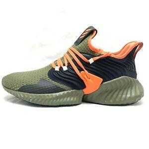 Adidas Alphabounce Instinct CC Raw Khaki/True Orange/Black Mens Shoes Size 11