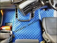 SCANIA G FLOOR SET LEATHERETTE IN BLUE [TRUCK PARTS & ACCESSORIES]