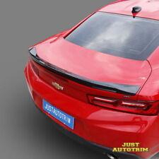 Carbon Fiber style Trunk Spoiler for 16-18 Chevrolet Camaro body kit Accessories