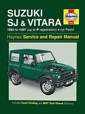 1942 Haynes Suzuki SJ Series, Samurai & Vitara (4-cyl) ESSENCE (82 - 1997) Manuel