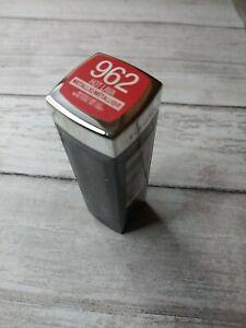 Maybelline New York Color Sensational Matte Metallic Lipstick Hot Lava 962