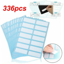336x Self Adhesive Sticky Blank Labels Stickers Note Tag Price Shop Tool 13x38mm