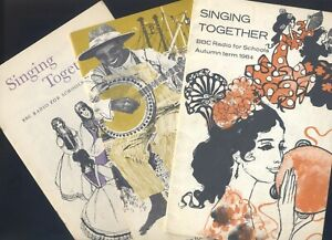 3 x Singing Together - BBC Radio for Schools 1964-65-66 - Music and Words